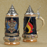Deutschland  Beer stein with crystals