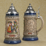 German beer stein folklore