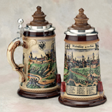 German stein Rothenburg Merian
