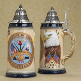 German beer stein US Army