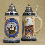 German beer stein US Navy