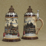 German beer stein Merrian Colonia