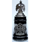 Stein black crystal Eagle with Deutschland crest