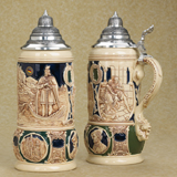 German beer stein Gambrinus