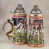German beerstein The Hussars
