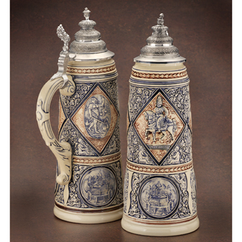 German beer stein King Solomon