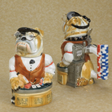 German beer stein casino  bulldog