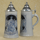 German beer stein Madonna and Child