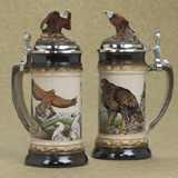 German beer stein eagles'nest